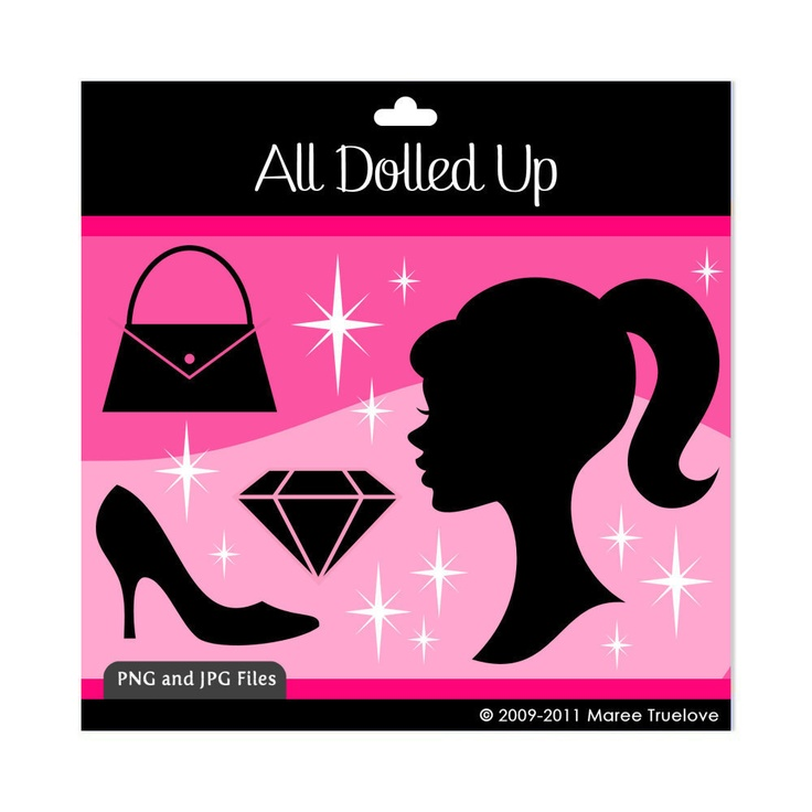 736x736 Barbie Clipart Lipstick