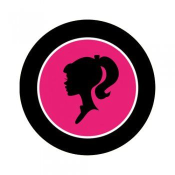 350x350 Pictures Barbie Silhouette Logo,