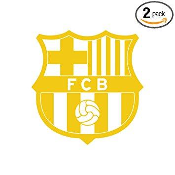 355x355 Fc Barcelona (Gold) (Set Of 2)