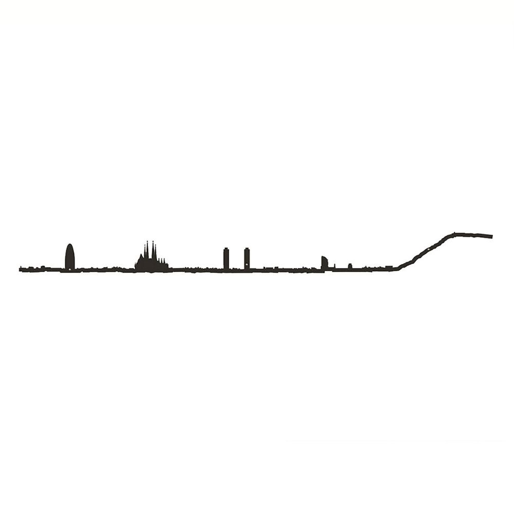 1000x1000 Barcelona Skyline