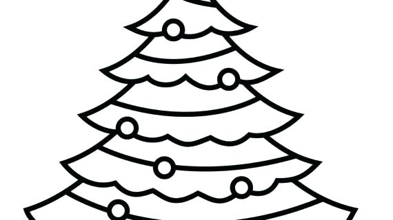 570x320 Outline Drawing Of A Tree Bare Tree Outline Coloring Page Free