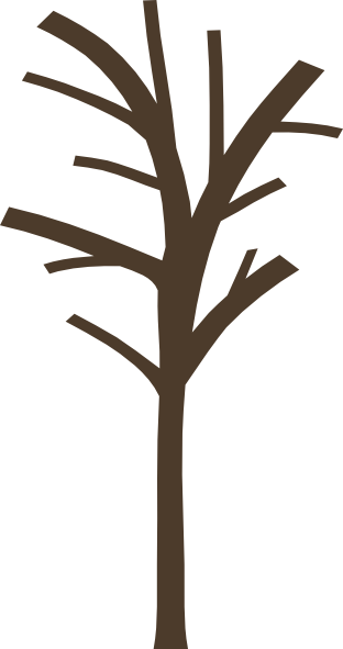 312x591 Bare Tree Clip Art
