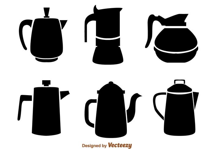 700x490 Coffee Pot Black Icons
