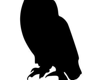 340x270 Barn Owl Silhouette Etsy