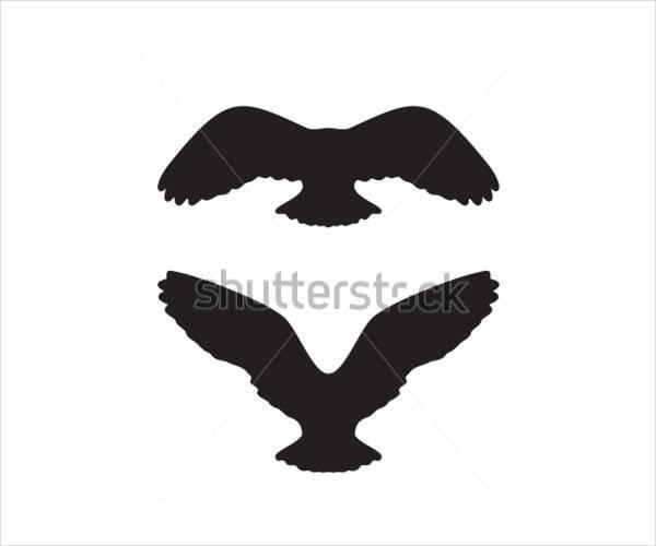 600x500 Owl Silhouettes