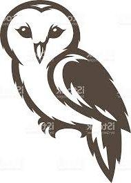190x265 (Ordinary Barn Owl Silhouette