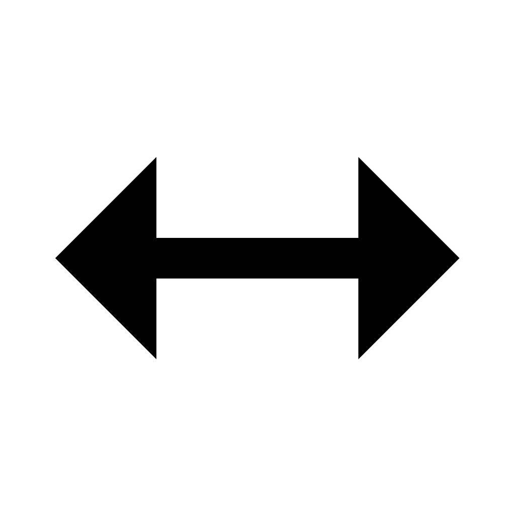 1024x1024 Double Arrow Silhouette Clipart Etc Sign Clipart