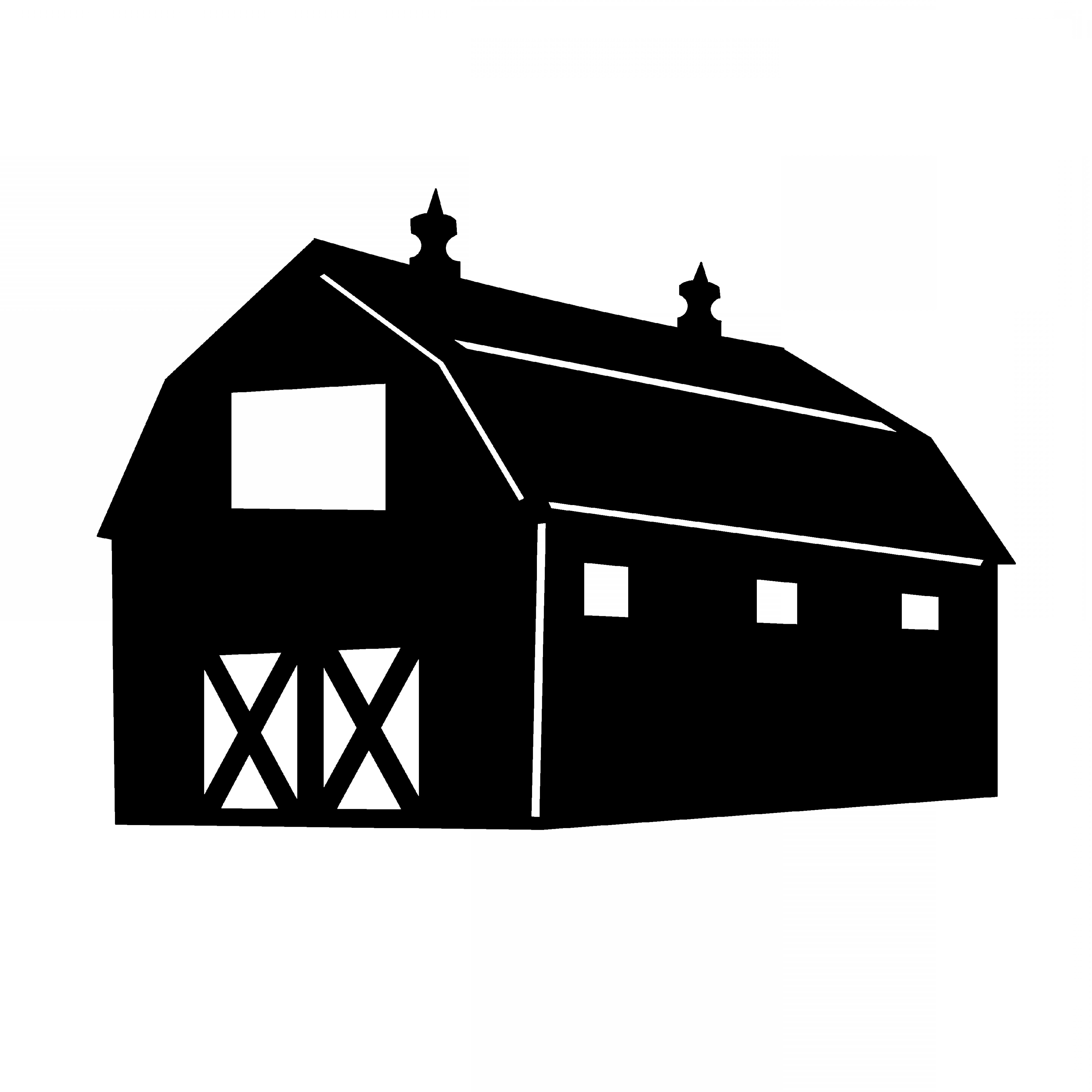 Barn Silhouette Vector at GetDrawings | Free download