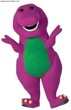 Barney Silhouette
