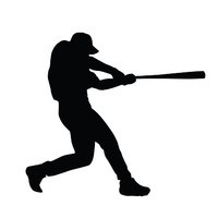 200x200 Baseball Player Baseball Batter Stock Vectors