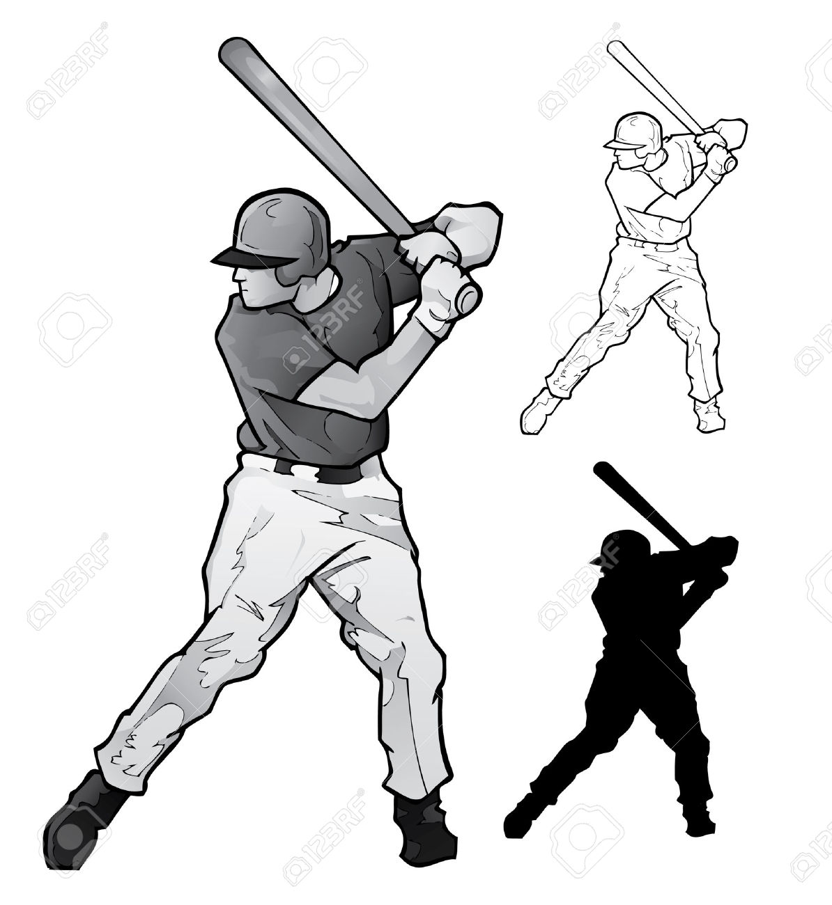 1194x1300 Baseball Player Silhouette Clipart Head Collection