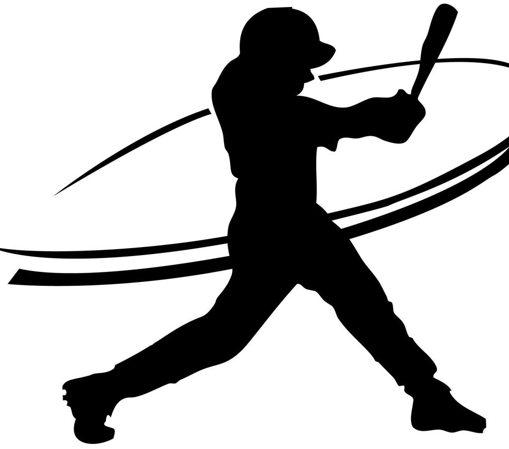 1024x903 Baseball Batter Silhouette Clip Art