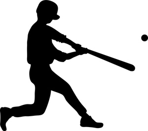 baseball batter silhouette clip art at getdrawings com free for rh getdrawings com Baseball Logos Clip Art Baseball Bat Clip Art