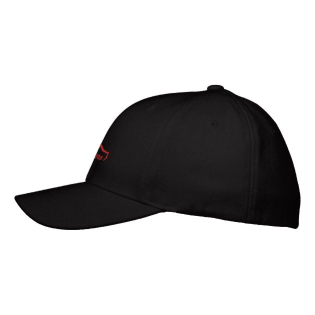 630x630 1969 Camaro Red Silhouette Embroidered Baseball Hat