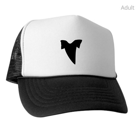 460x460 Shark Tooth Silhouette Hat By Silhouetteanimals