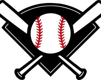 340x270 Baseball Diamond Svg Etsy