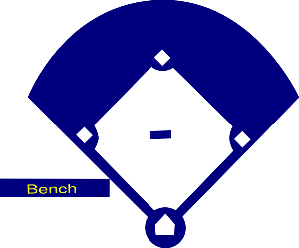 baseball diamond silhouette at getdrawings com free for personal rh getdrawings com