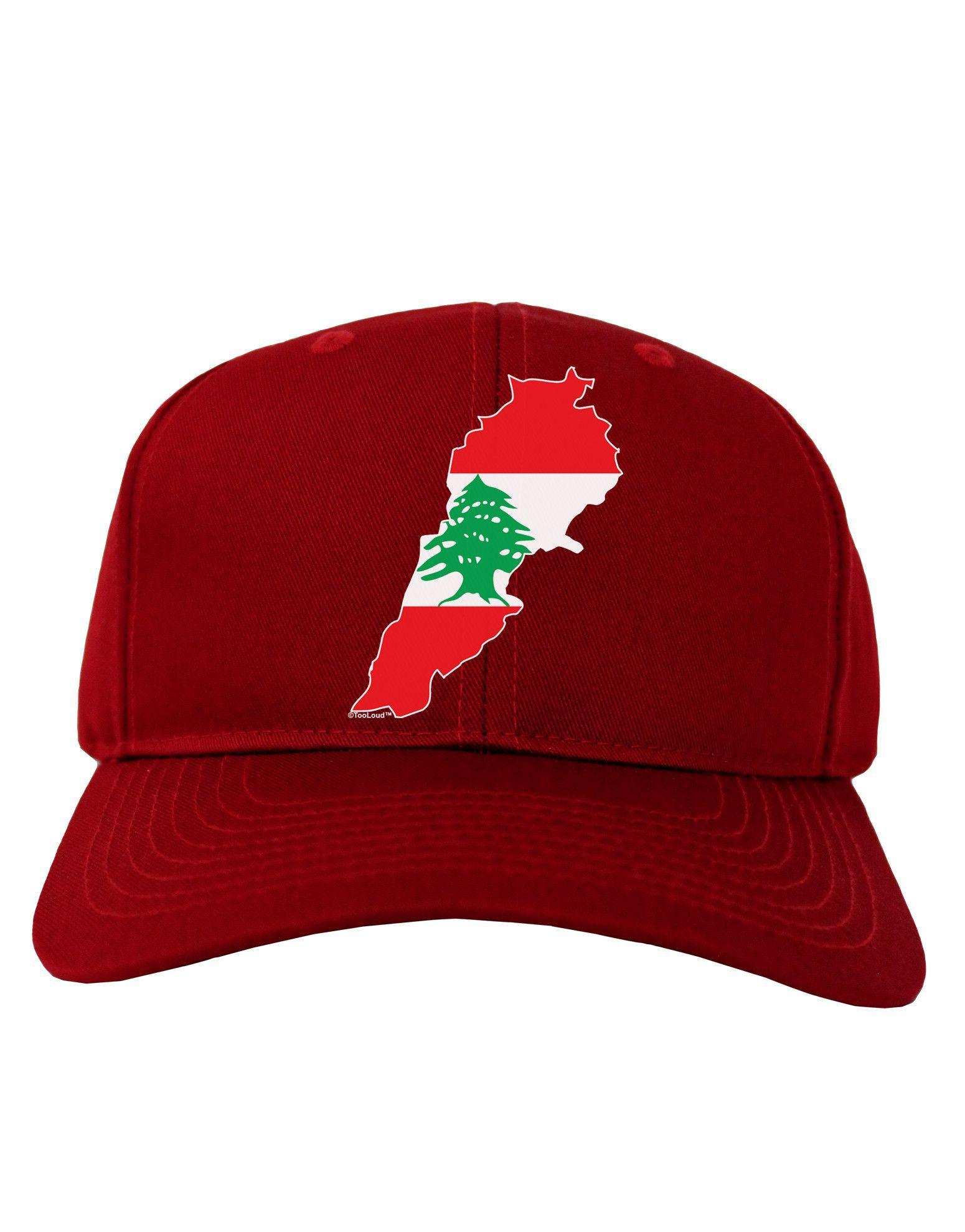 1550x1978 Lebanon Flag Silhouette Adult Dark Baseball Cap Hat Lebanon Flag