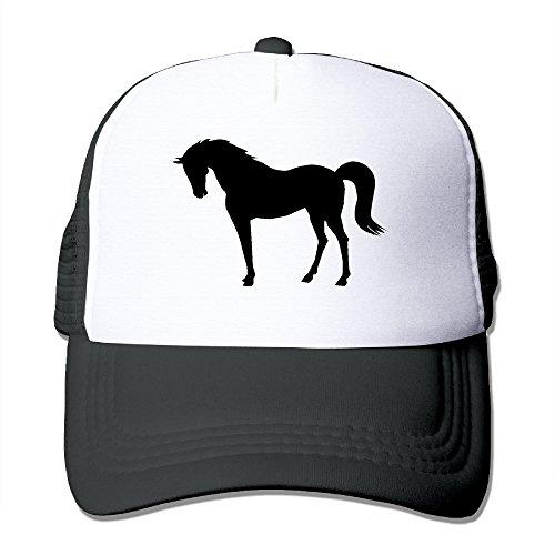 500x500 Pengle Hats Silhouette Horse Trucker Hats Character Designs Hip