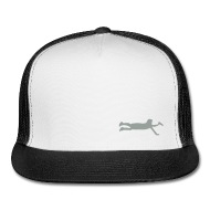190x190 Ultimate Frisbee Hat Layout Silhouette Hat By Ecohen Spreadshirt