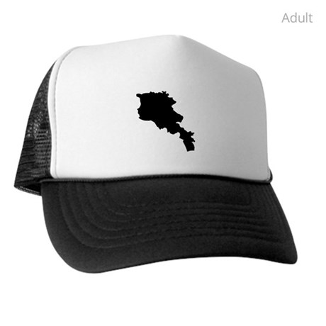 460x460 Armenia Silhouette Trucker Hat By Countrysilhouettes