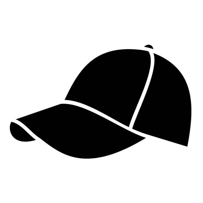660x660 Baseball Cap Silhouette