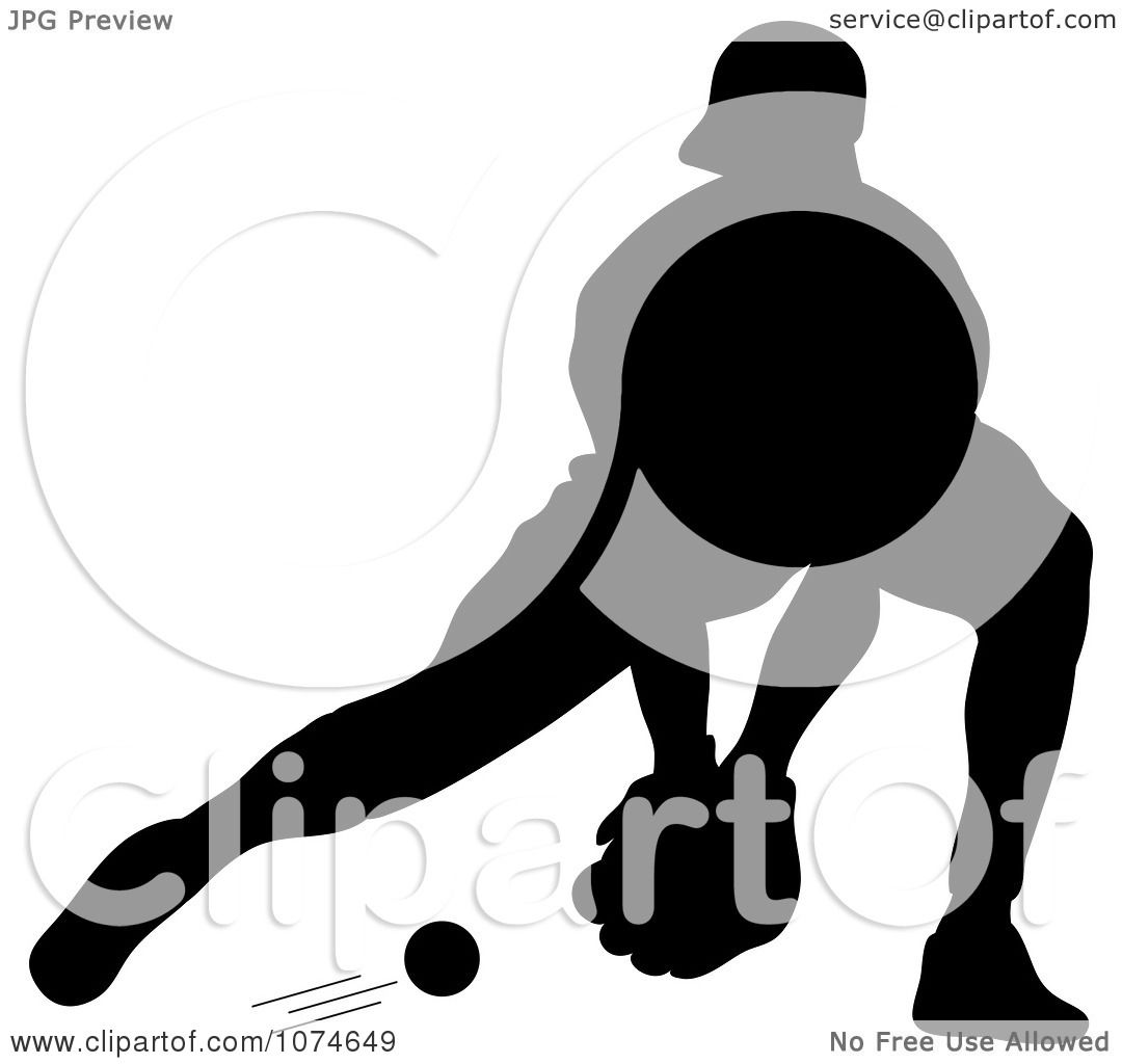 1080x1024 Clipart Silhouetted Baseball Player Catching A Ground Ball