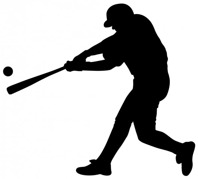 662x600 16 Baseball Player Diving Silhouette Vector Images