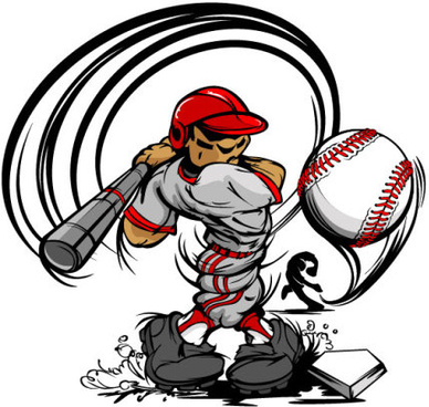 388x368 Baseball Player Silhouette Free Vector Download (5,849 Free Vector