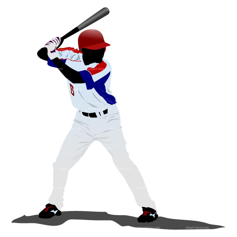 800x800 Clipart Baseball Player