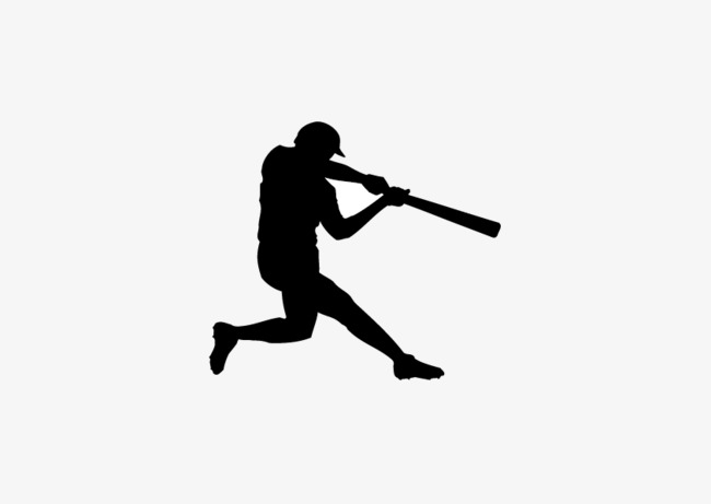 650x461 Fig Baseball Silhouette, Baseball, Sketch, Movement Png And Vector
