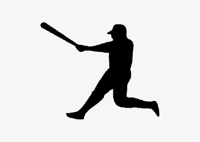 650x461 Fig Baseball Silhouette, Black, Baseball, Sketch Png And Vector