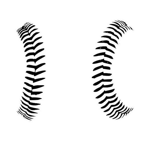 baseball stitches silhouette at getdrawings com free for personal rh getdrawings com Baseball Seams Clip Art Black baseball seams vector art