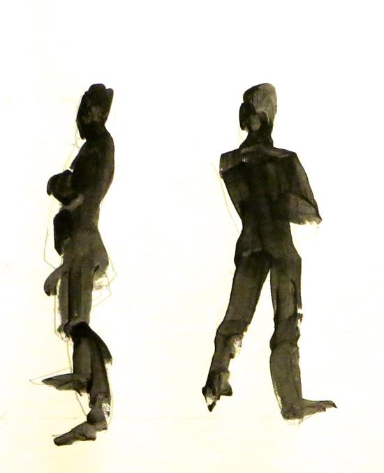 550x678 Bill Shelley Basic Figure Silhouettes