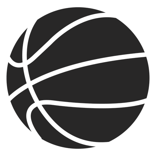 512x512 Basketball Ball Icon Silhouette