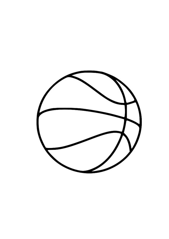 570x806 Basketball Outline Laptop Cup Decal Svg Digital Download Cuttable