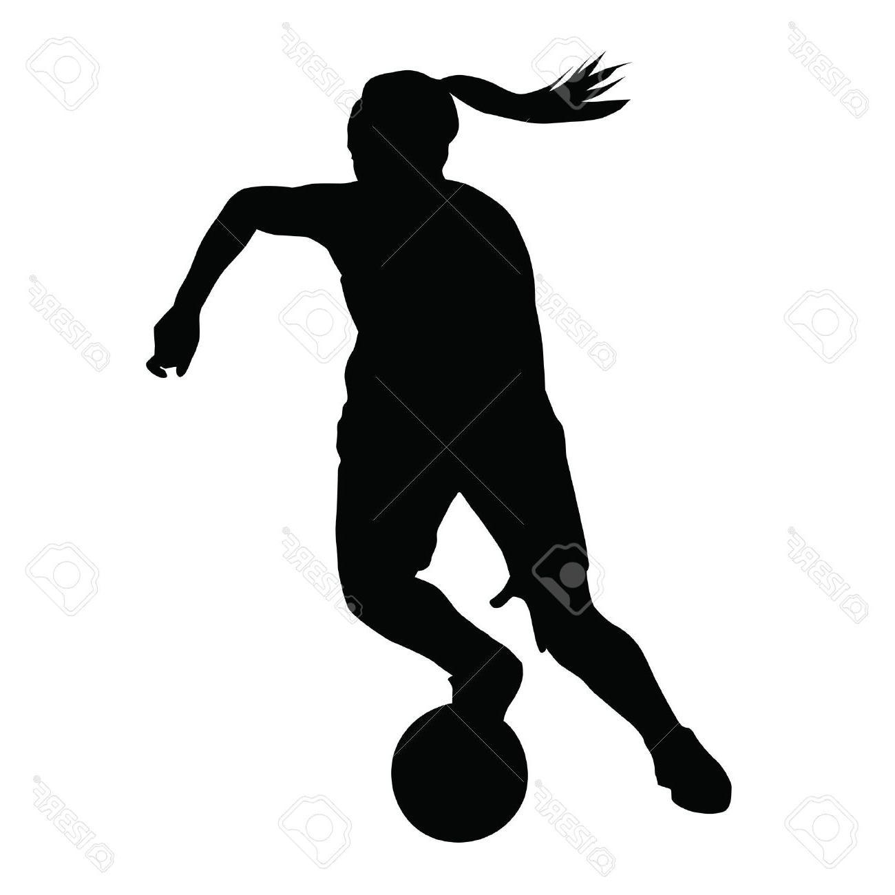 1300x1300 Best 15 Basketball Player Vector Silhouette Woman Girl Running