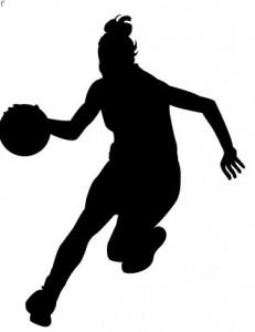 231x300 Fashionable Basketball Player Clipart Shooting Vector Silhouette