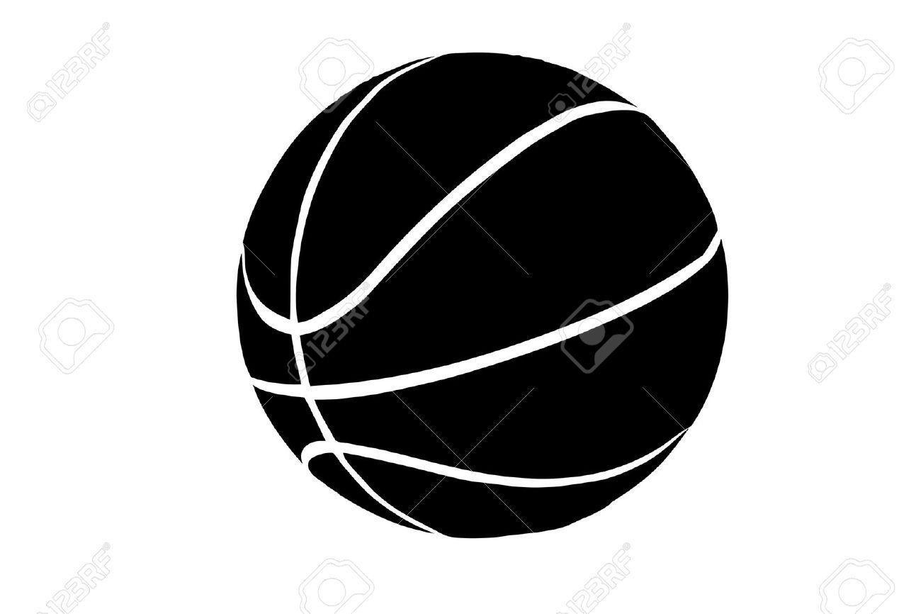 1300x866 Basketball Silhouette