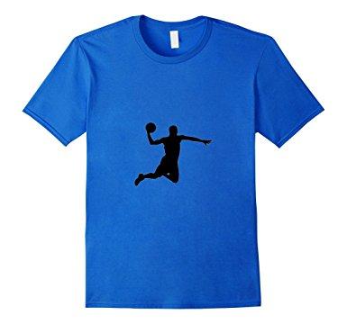 385x360 Slam Dunk T Shirt Silhouette Ball Air Jump Basketball