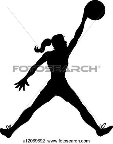368x470 Basketball Girl Clipart