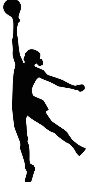 298x608 Volleyball, Sport, Diversion, Basketball, Girl, Lassie, Jump, Hit