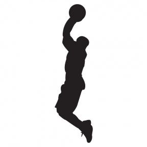 288x288 Shooting Basketball Clipart