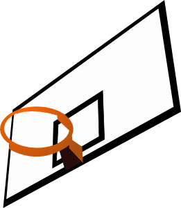 261x299 Basketball Rim Clip Art