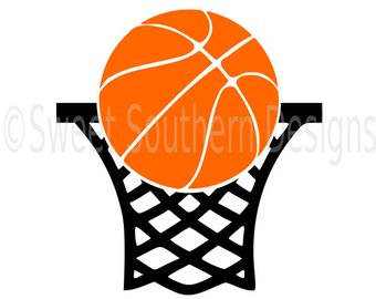 340x270 Basketball Hoop Svg Etsy
