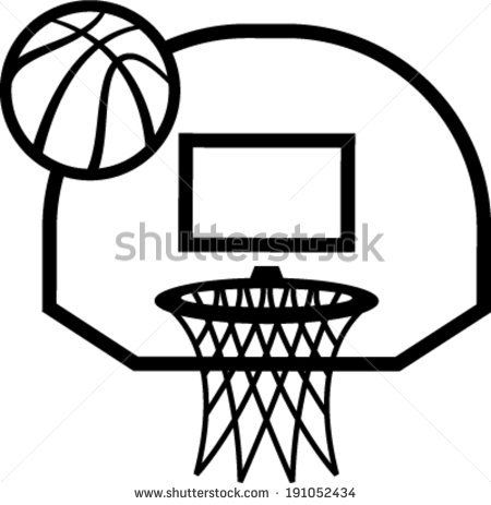 450x463 Gallery For Gt Basketball Net Vector Work Ideas
