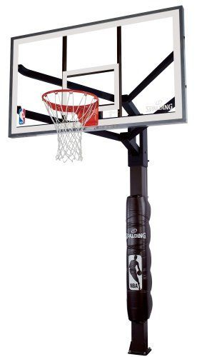276x500 Spalding H Frame In Ground Basketball System Review