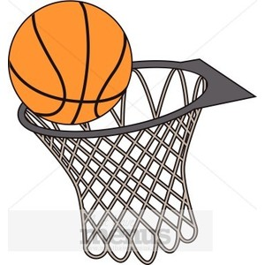 300x300 Basketball Goal Clipart