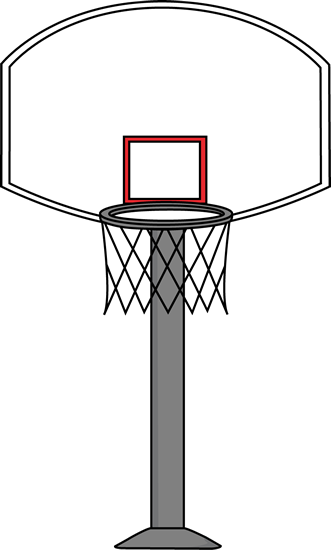 331x550 Printable Basketball Art Basketball Goal Clip Art Image