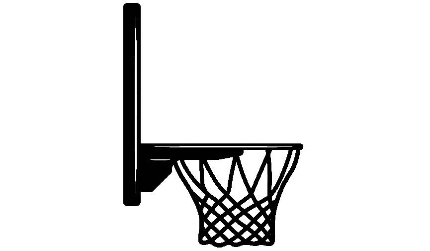 865x504 Basketball Hoop